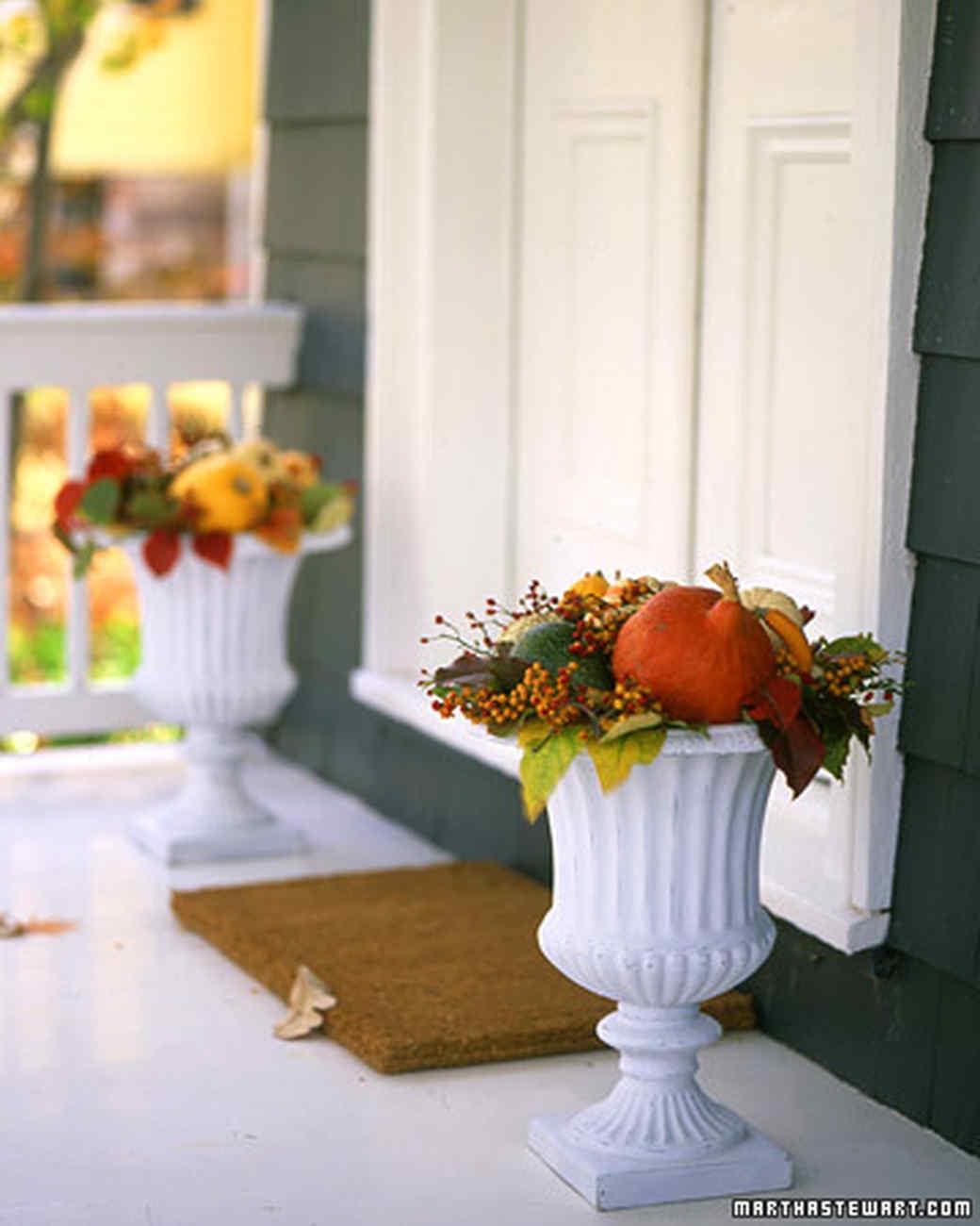 Autumnal Outdoor Bouquet