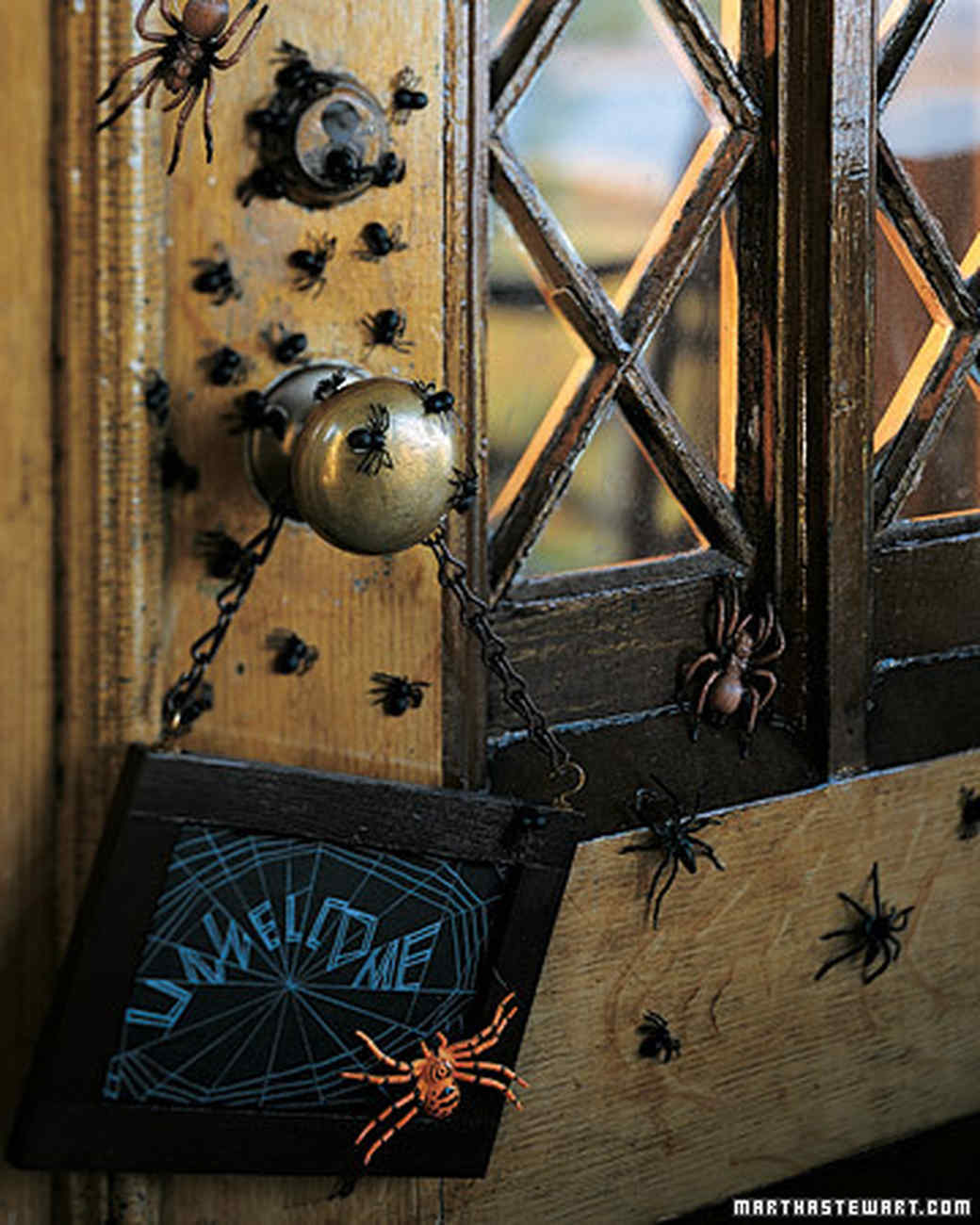 Spooky Porches: Spiders