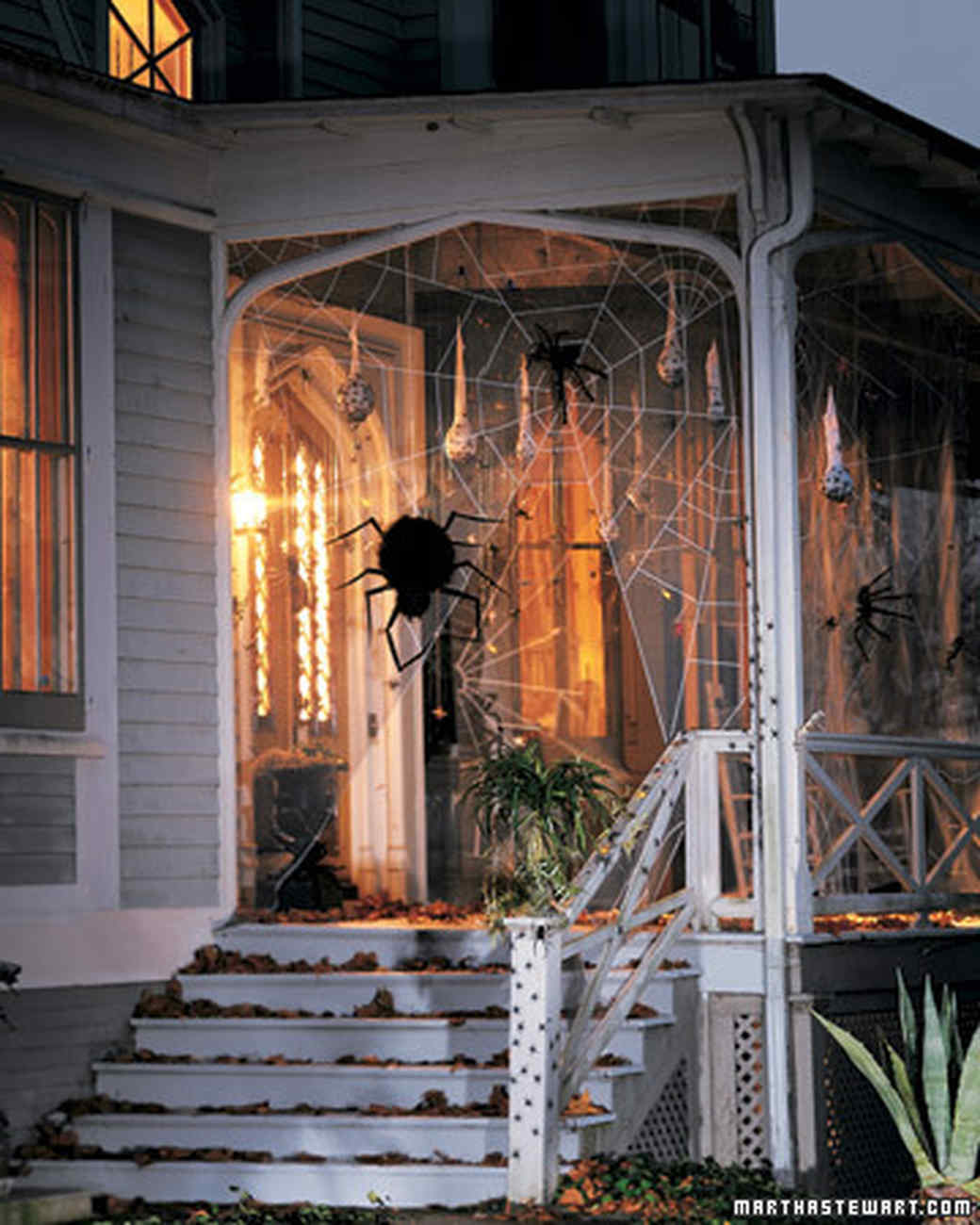 Introduction & Spooky Porches: Spiders | Martha Stewart Pezcame.Com