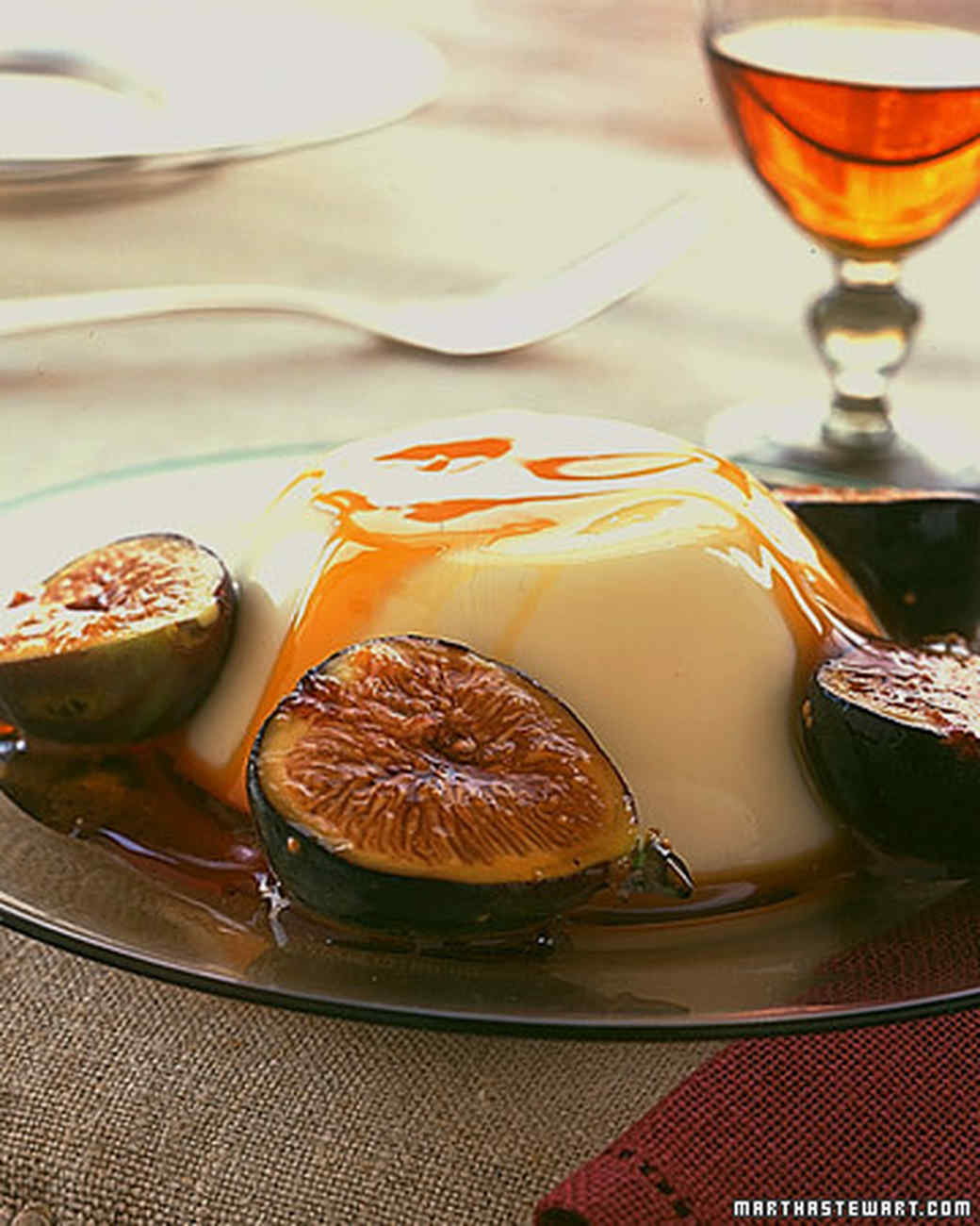 Panna Cotta with Figs