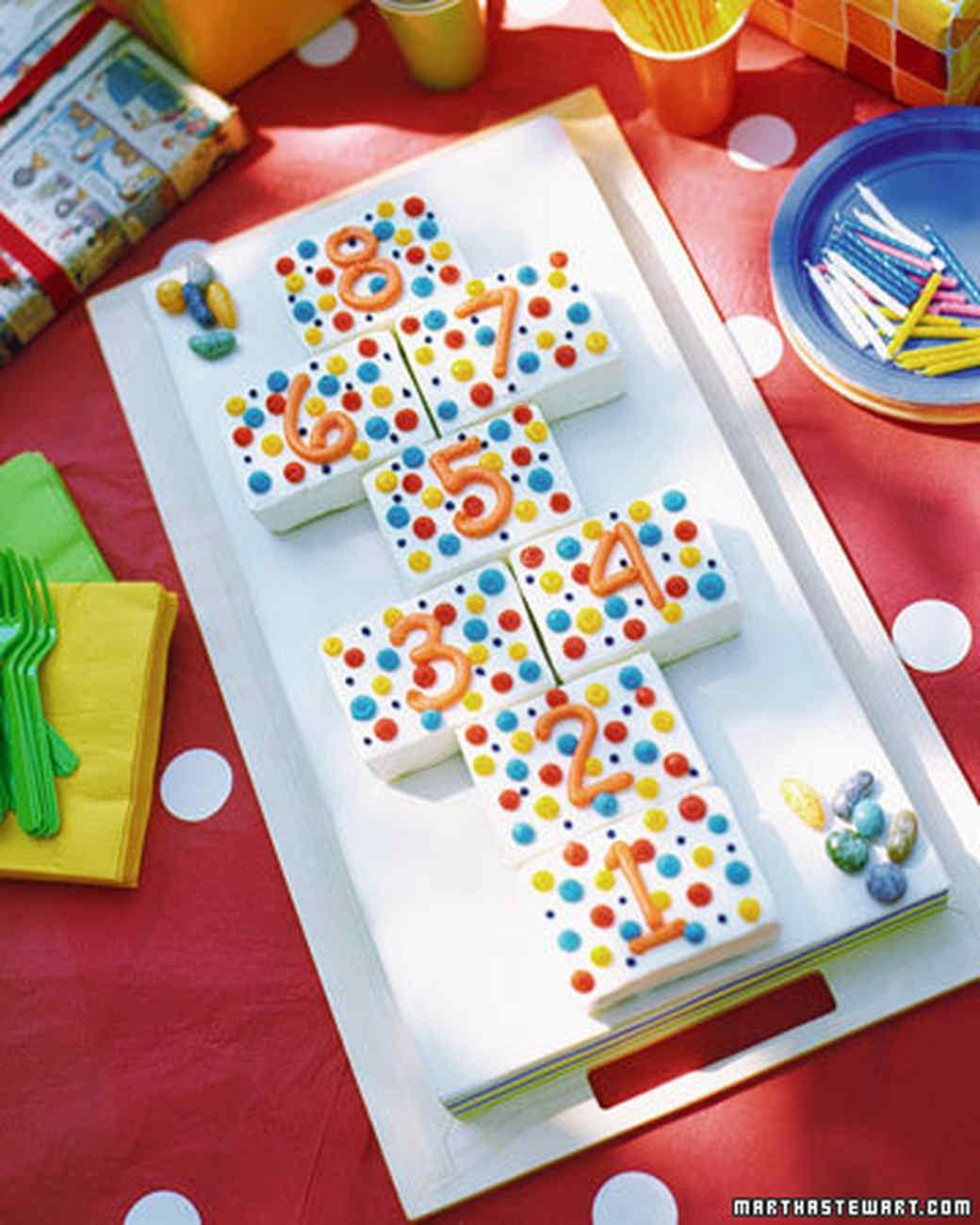 Polka-Dot Birthday Cake