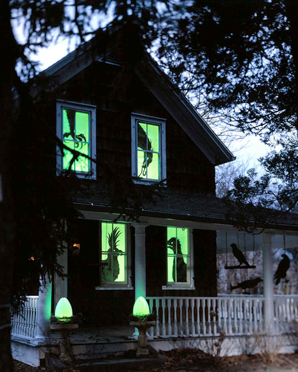 outdoor halloween decorations martha stewart - Halloween Ideas For Yard