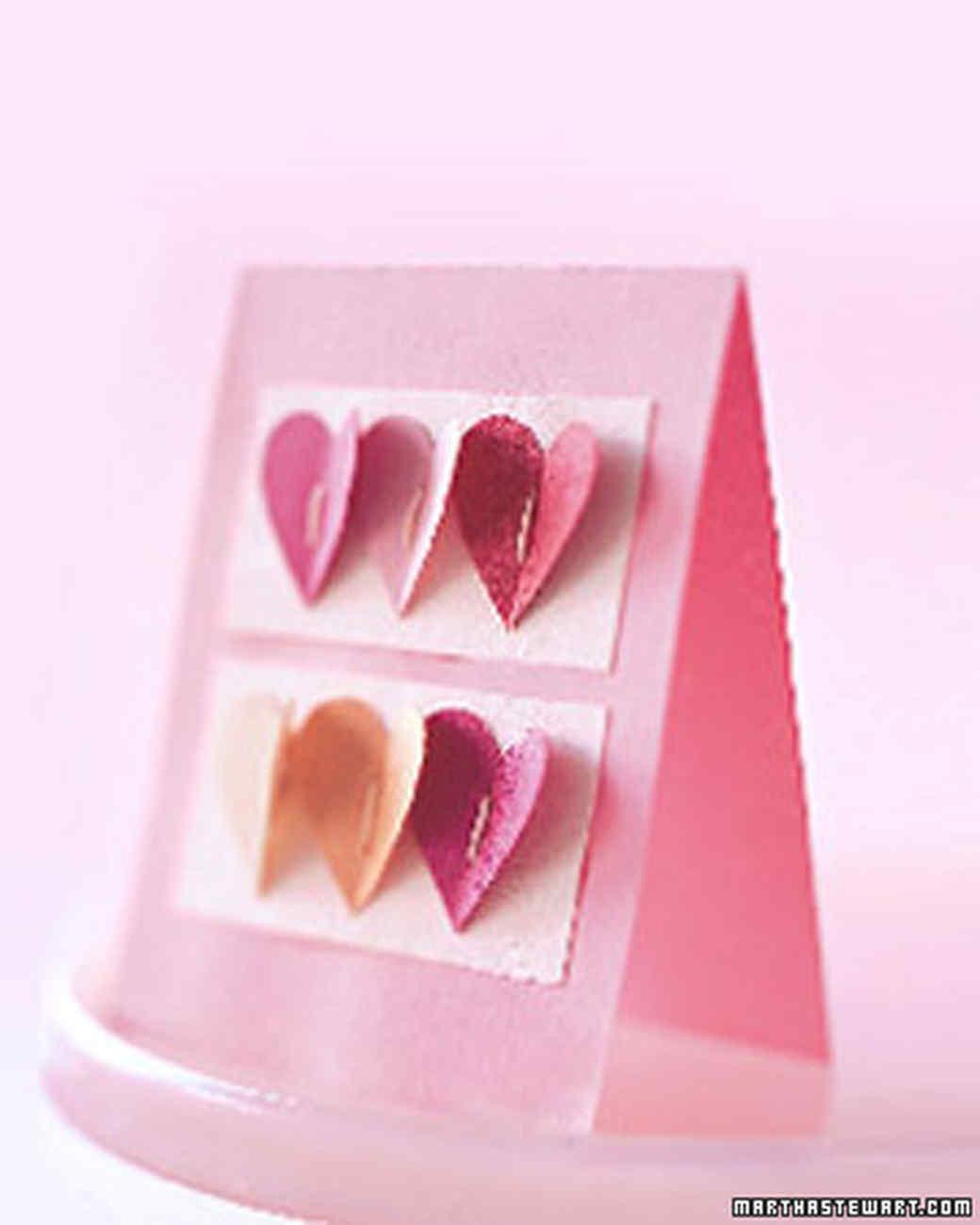 Hand-Stitched Valentines