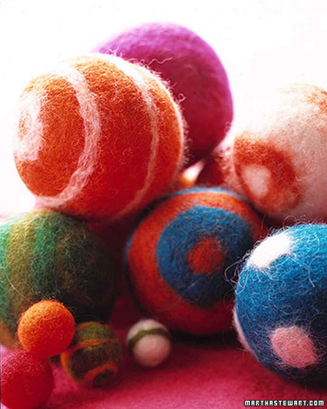 Felt balls martha stewart felt balls baditri Images