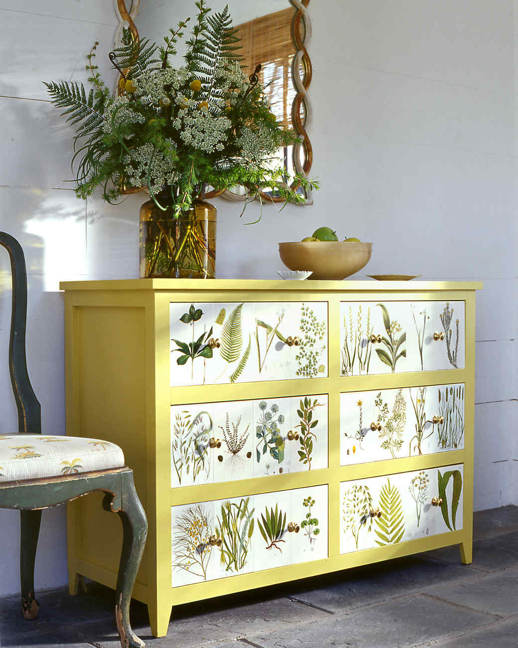 the magic of decoupage martha stewart. Black Bedroom Furniture Sets. Home Design Ideas