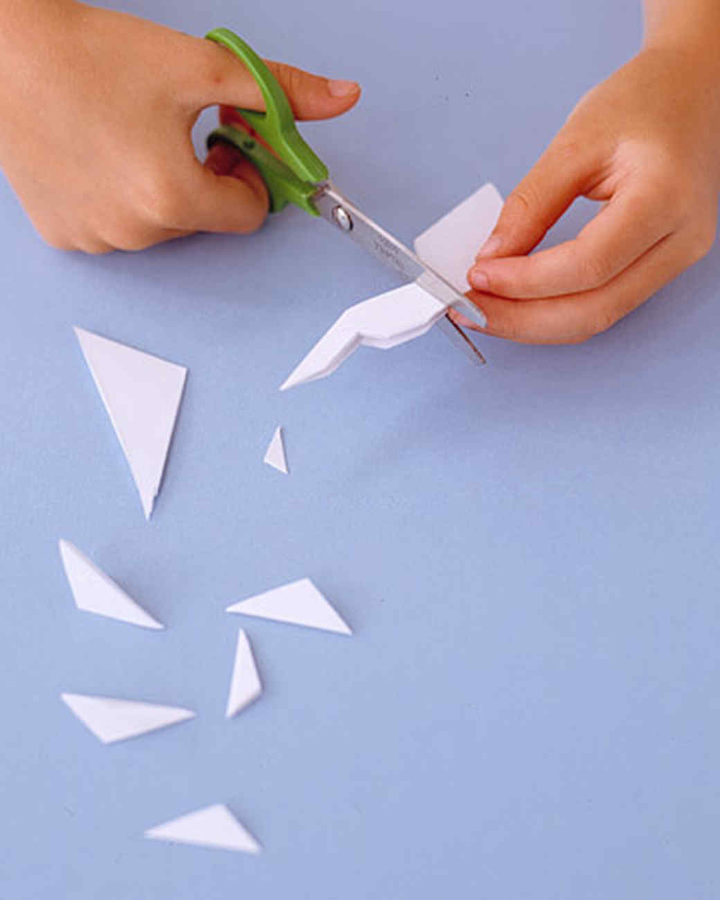 how to make paper snowflakes martha stewart Easy Snowflake Clip Art Easy Snowflake Clip Art