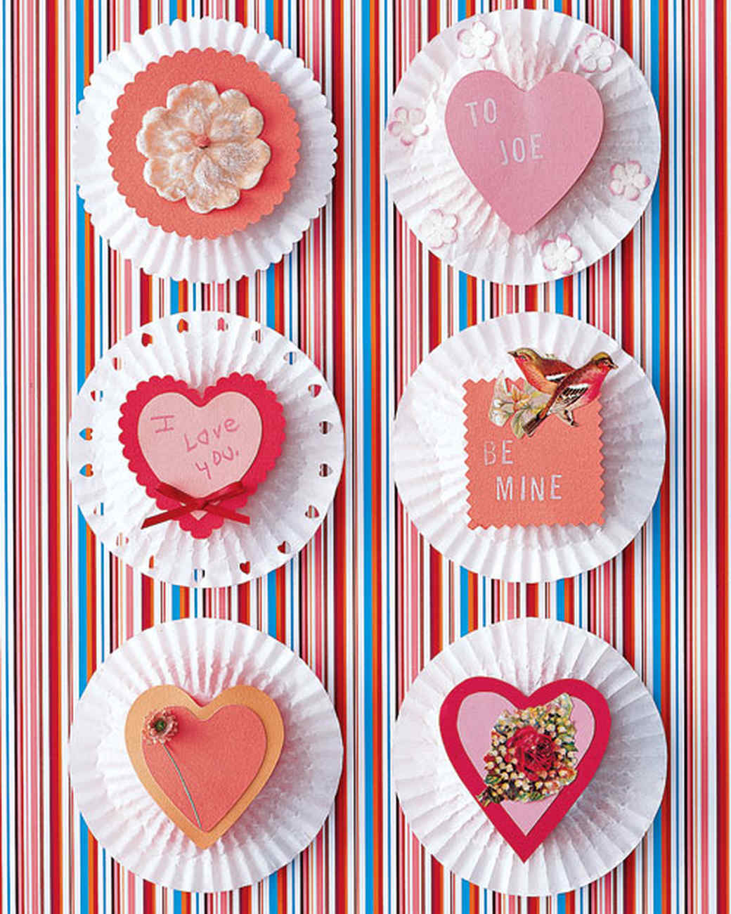Handmade Valentines for Kids: Cupcake Goodies