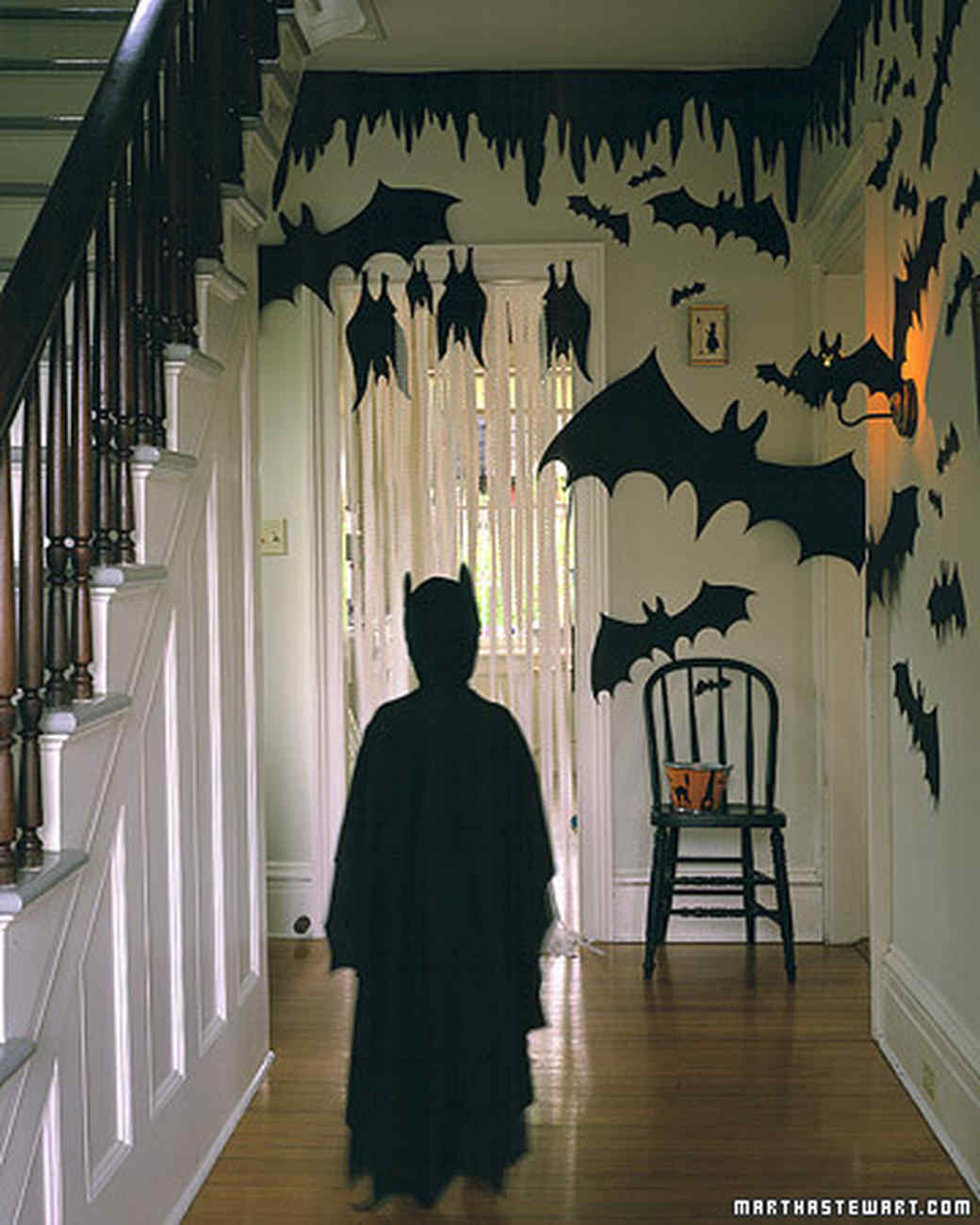 Flying Bat Invitation