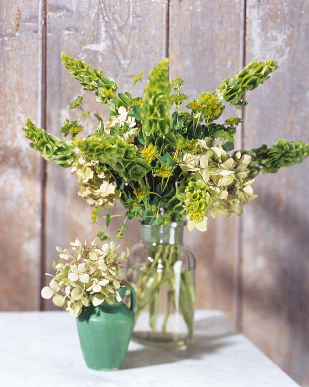 Hydrangea arrangements martha stewart