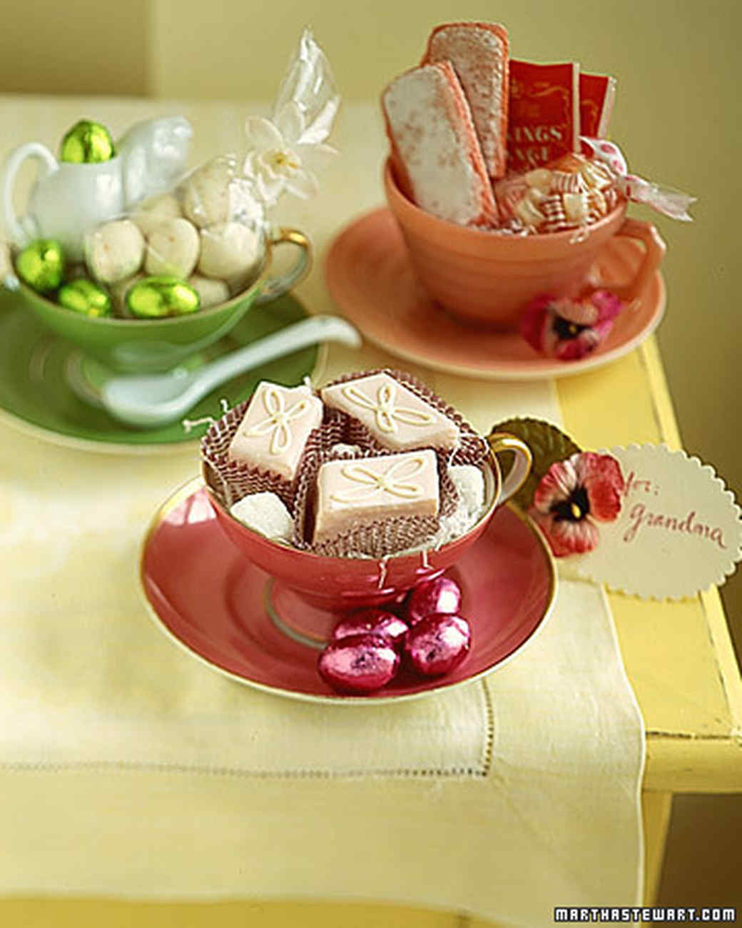 Easter gifts martha stewart images gift and gift ideas sample tea party basket martha stewart negle images negle Images
