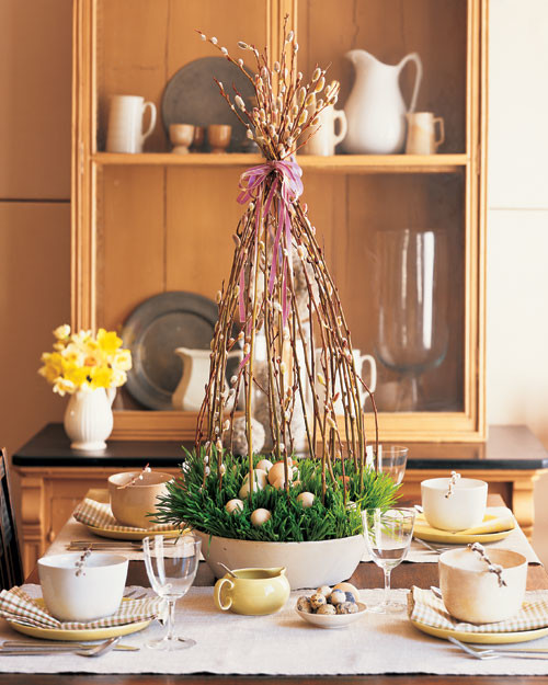 18 Spring Decor Ideas: Easter And Spring Centerpieces