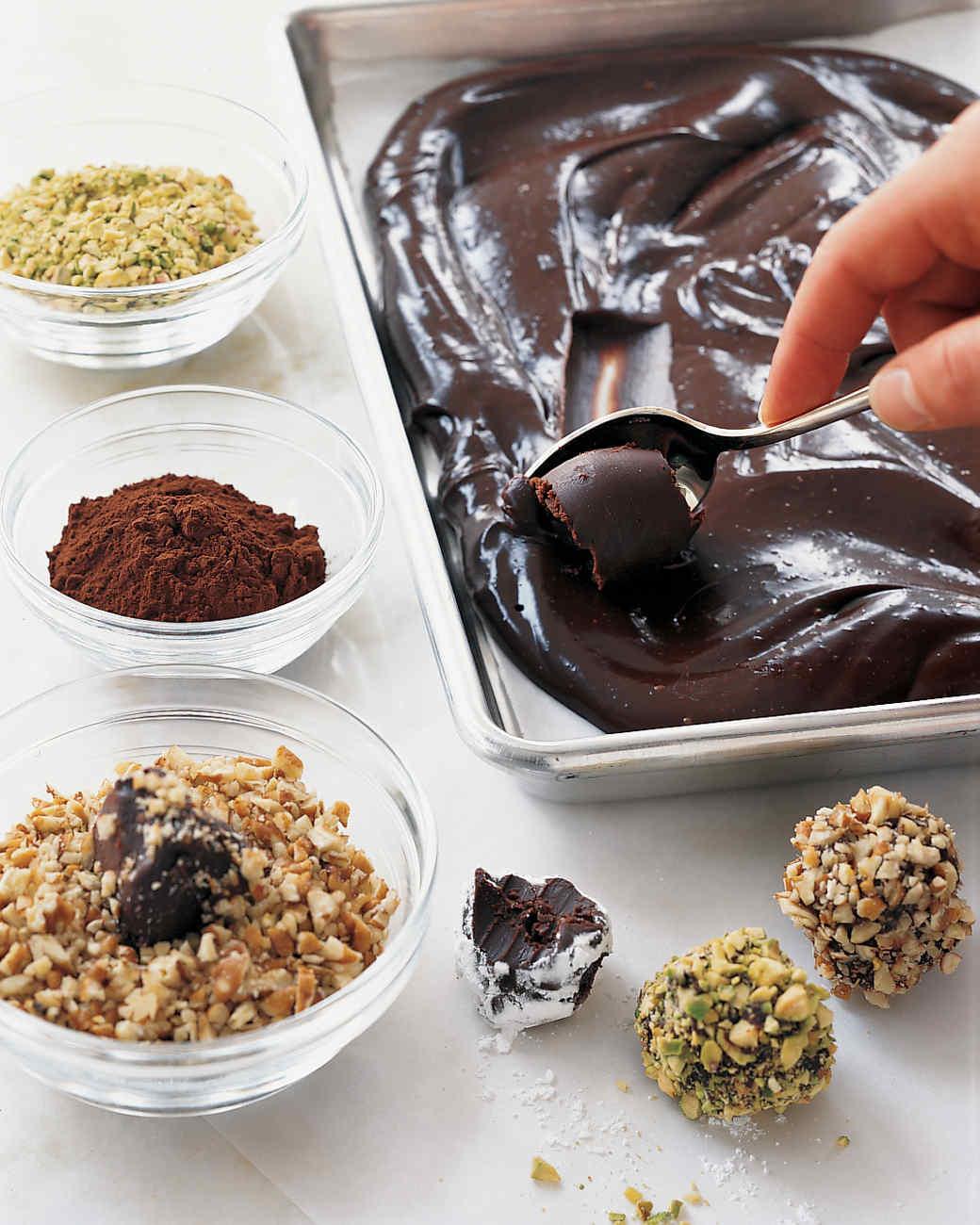 Chocolate truffles recipes easy