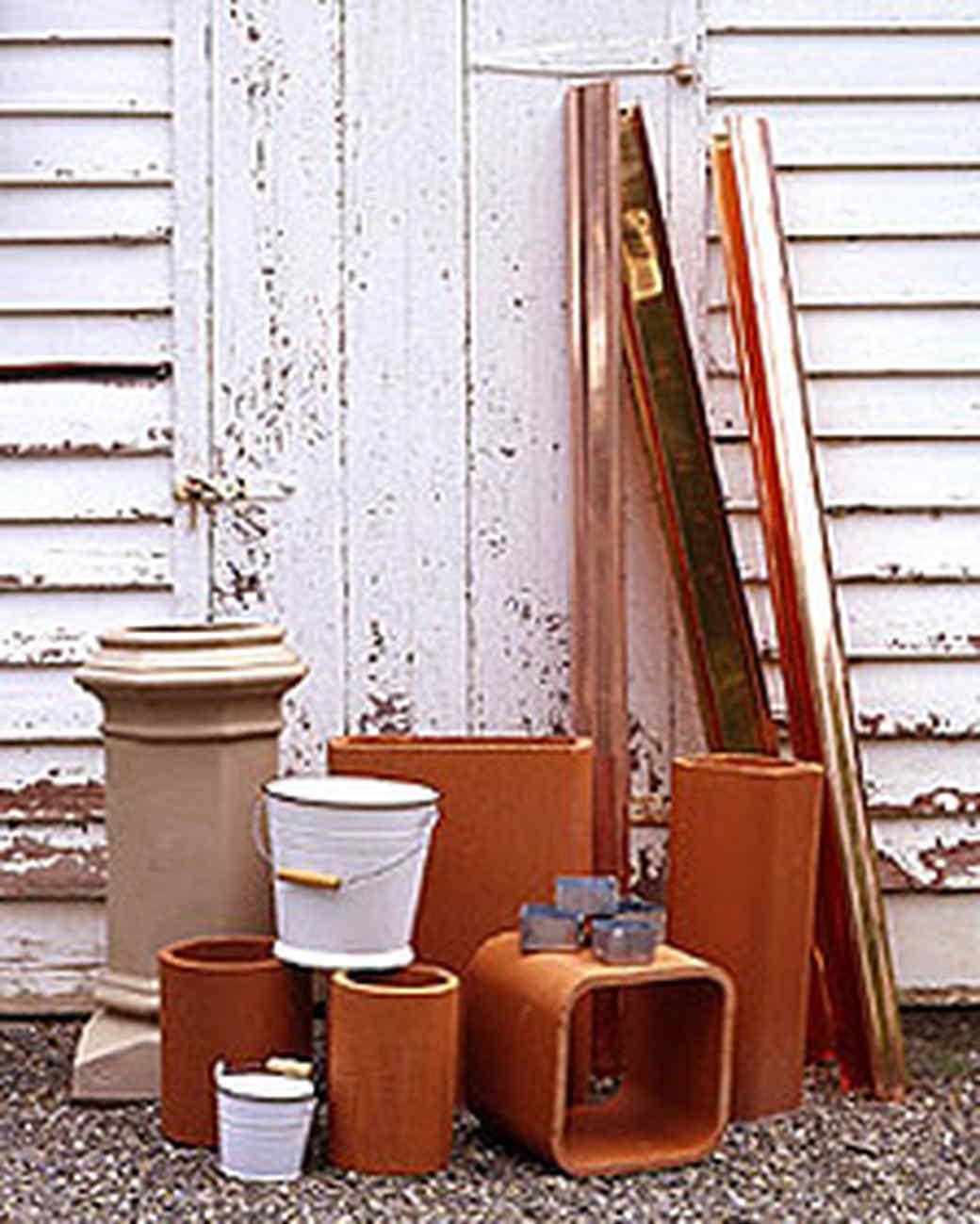 Surprising Garden Pots: Key Materials
