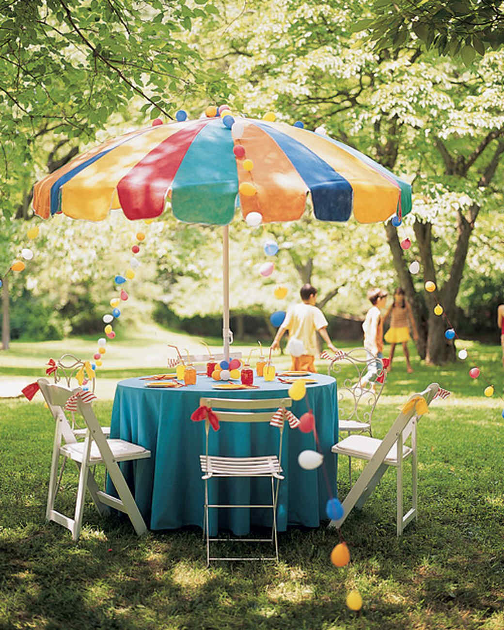 Backyard Birthday Party Ideas For Kids Martha Stewart