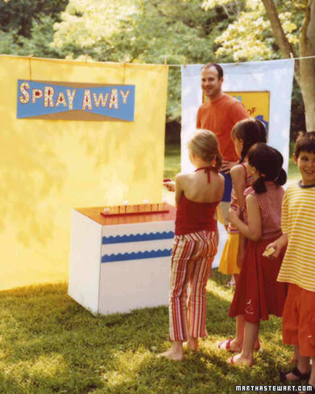 how to throw a kids carnival party martha stewart