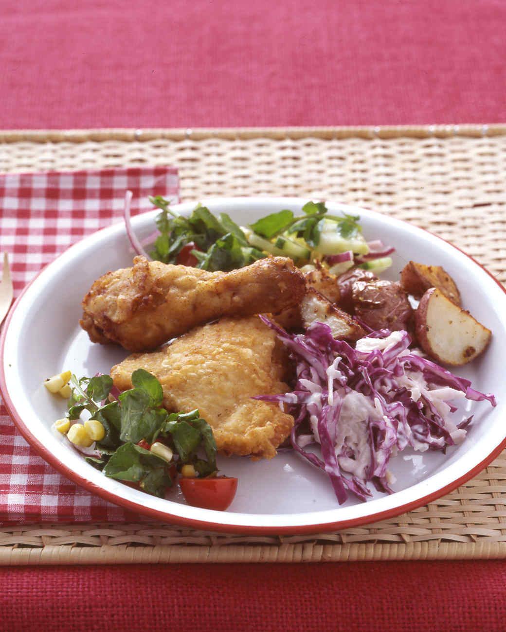 Red-Cabbage Slaw