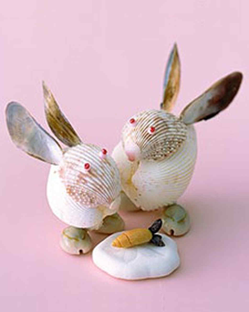 Shell creatures martha stewart for Animals made out of seashells