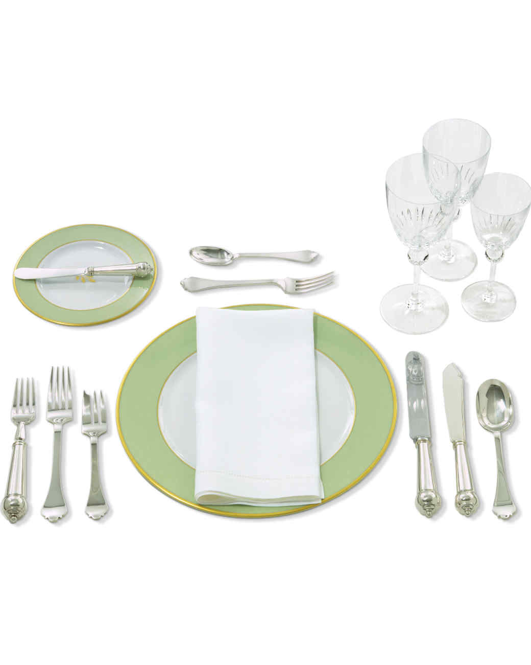sc 1 st  Martha Stewart : table setting for soup and salad - pezcame.com