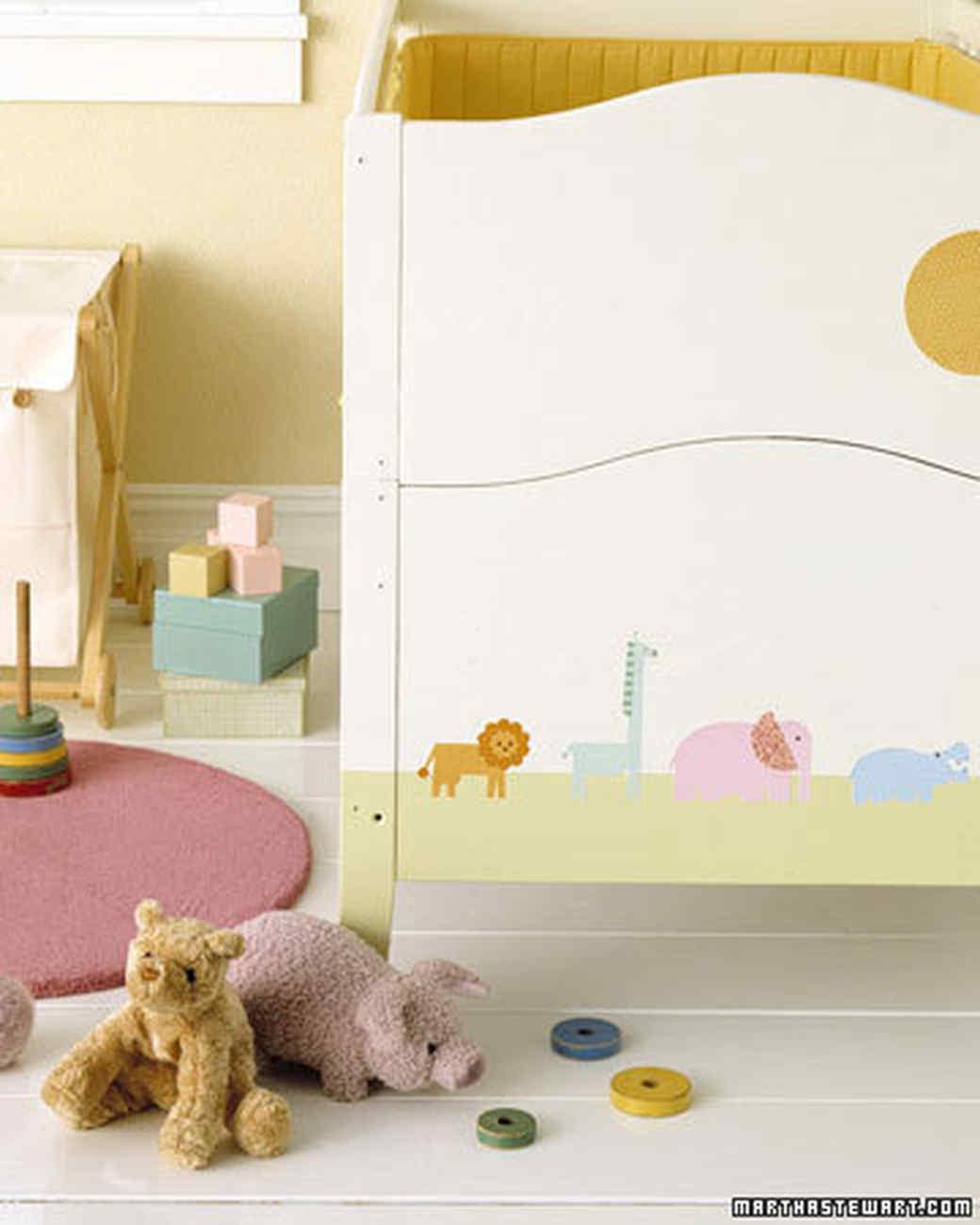 Decoupage Ideas For The Nursery