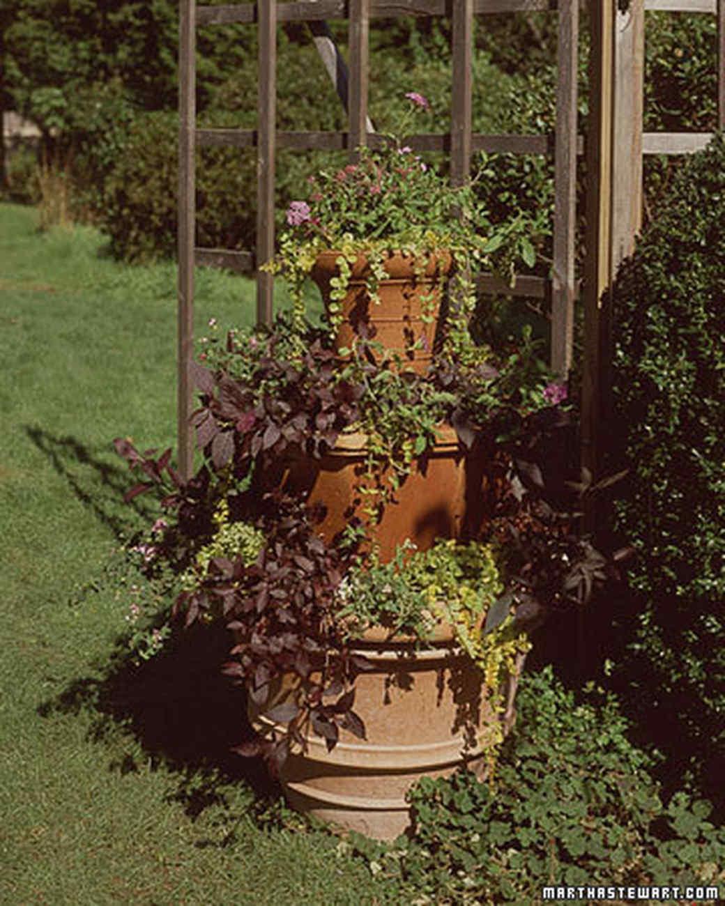 Decorative Flowerpots And Planters Martha Stewart
