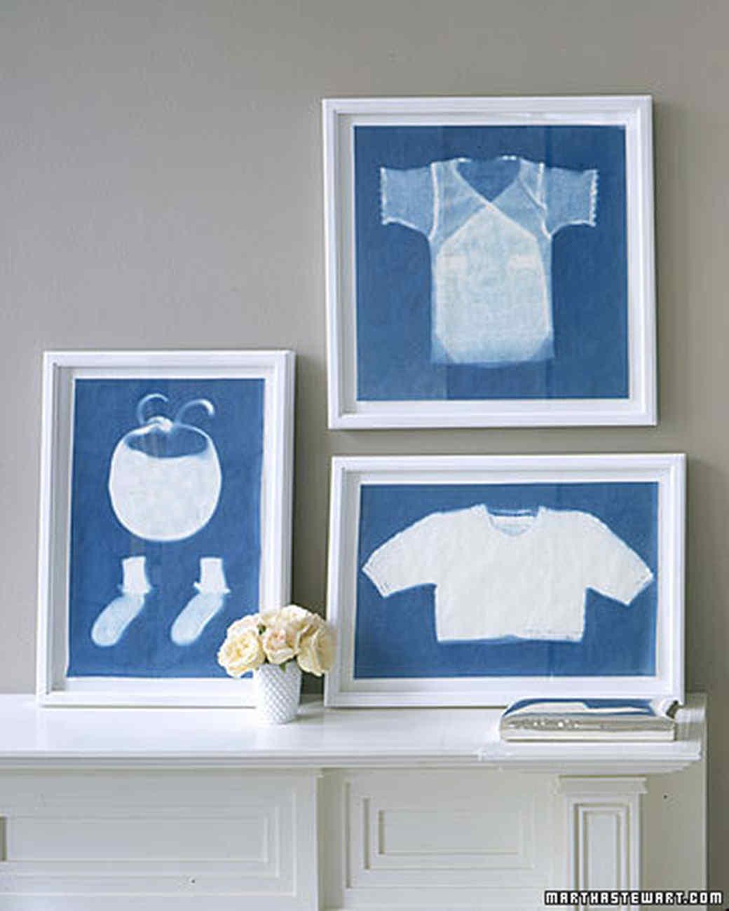 Baby Clothes Sun Prints