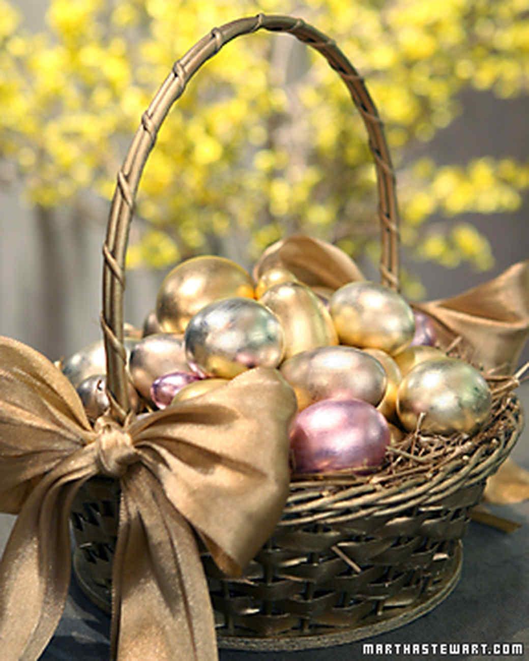 Gilding Eggs