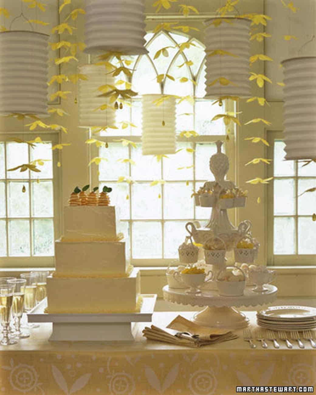 Martha's Meyer Lemon Anniversary Cake