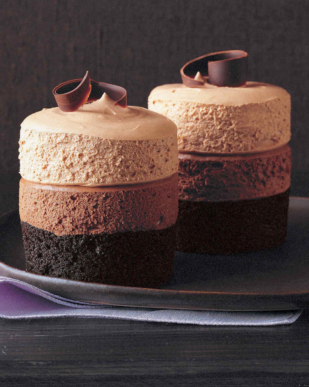 Cake With Chocolate Mousse : Triple-Chocolate Mousse Cake Recipe Martha Stewart