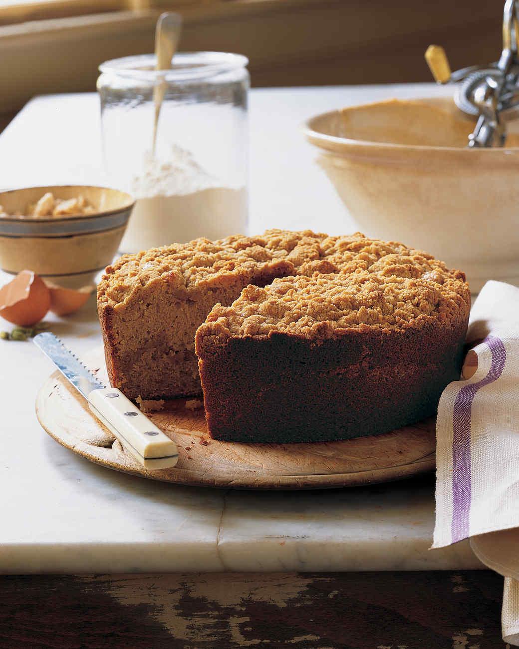 Cardamom Coffee Cake Martha Stewart
