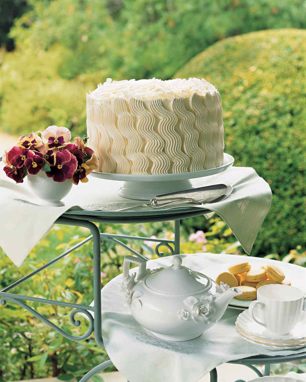 Teatime Coconut Layer Cake