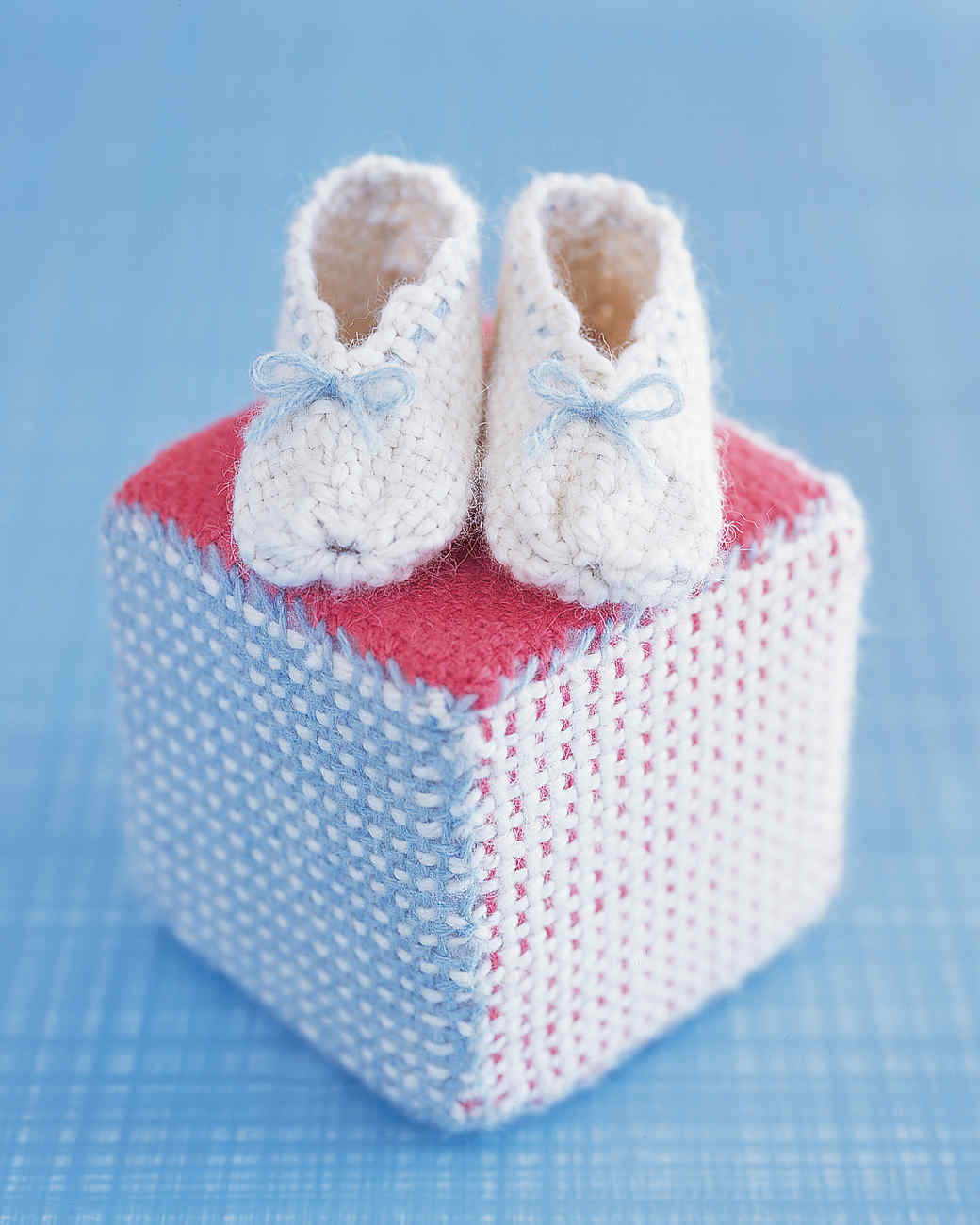 Baby Booties and Play Block
