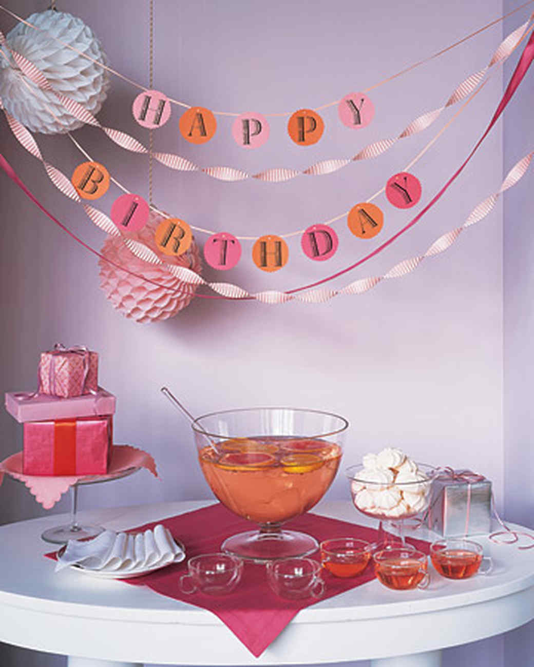 Birthday Party Clip Art and Templates | Martha Stewart