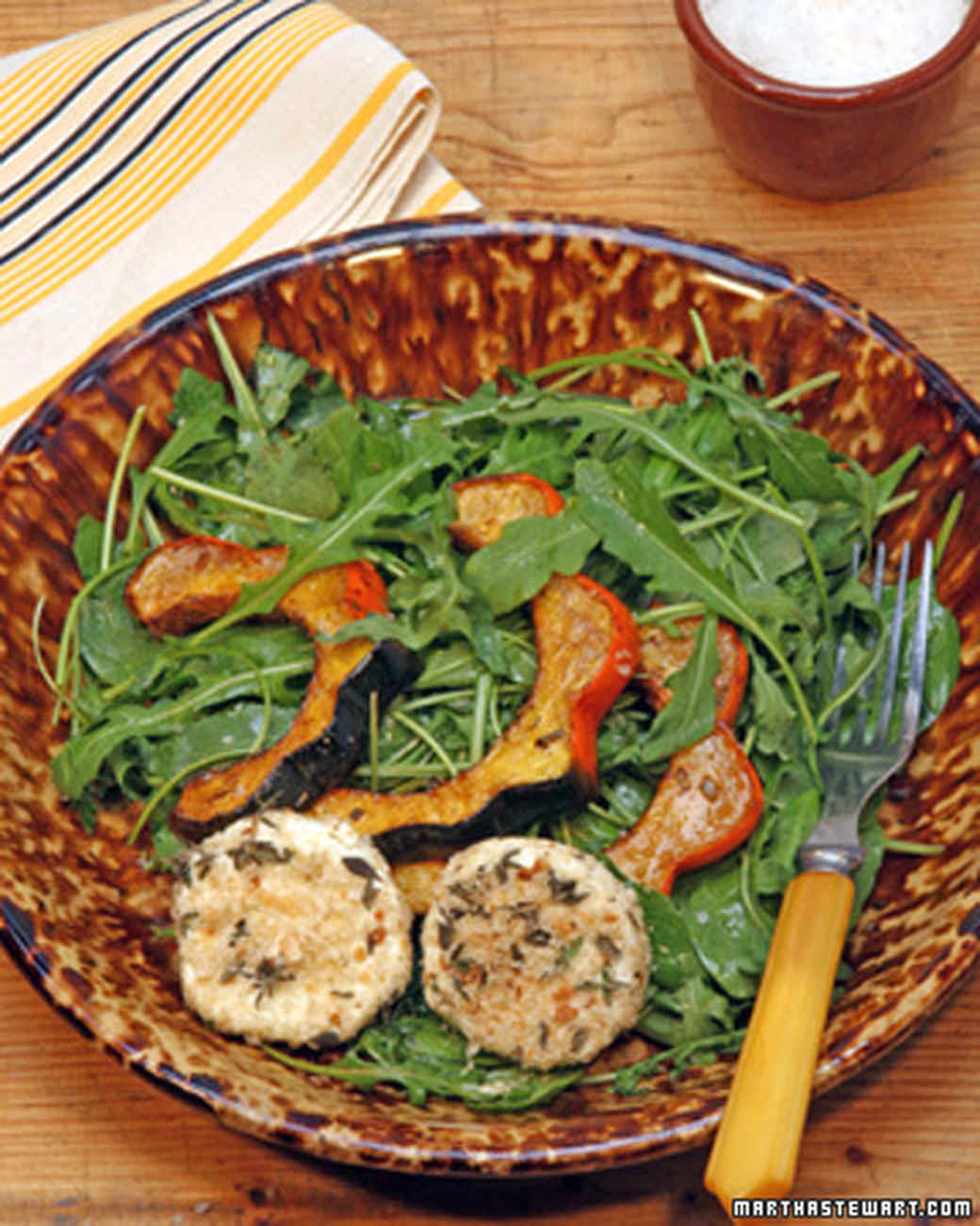 Balsamic Vinaigrette for Roasted Acorn Squash Salad