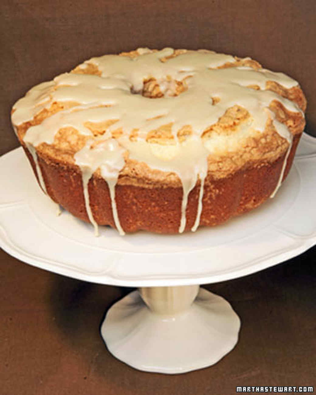 Pound Cake with Maple Glaze Recipe & Video | Martha Stewart