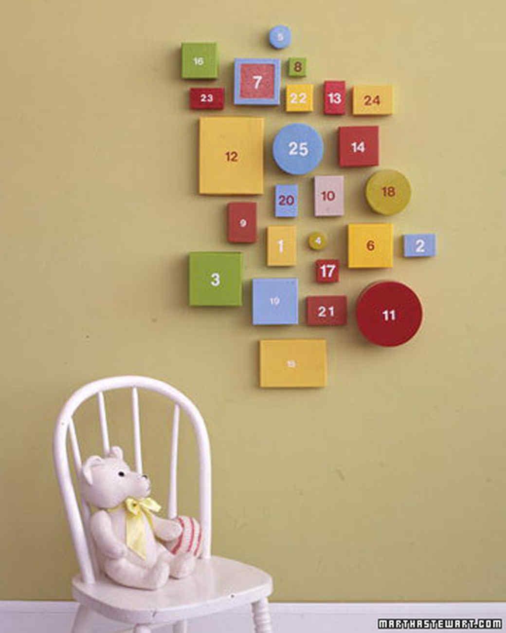 Handmade Advent Calendars | Martha Stewart