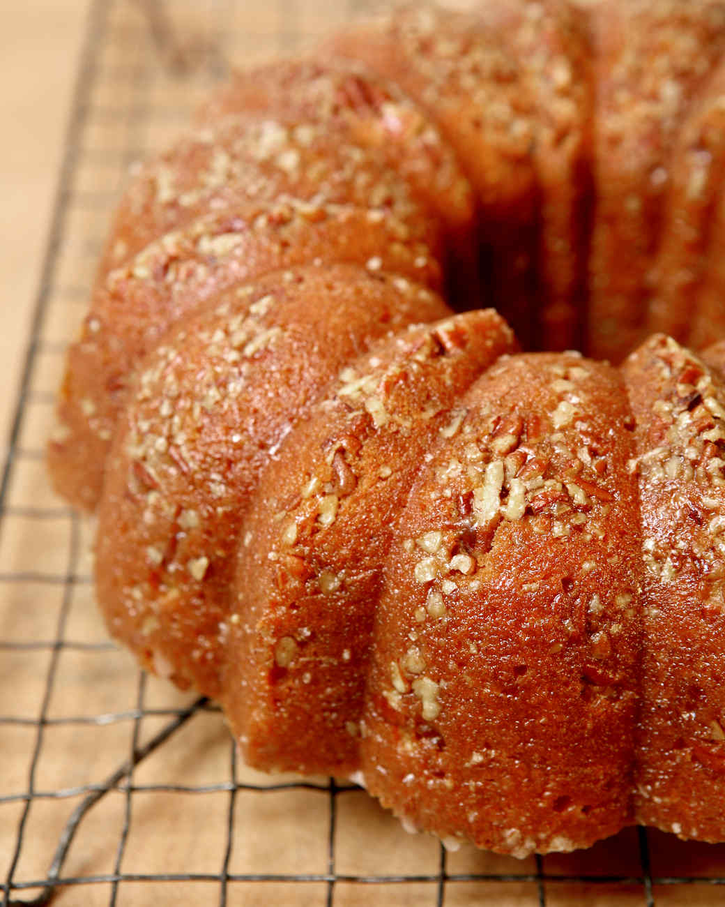 Sweet-Potato Bourbon Bundt Cake