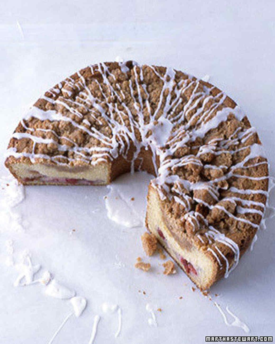 Cherry-Streusel Coffee Cake