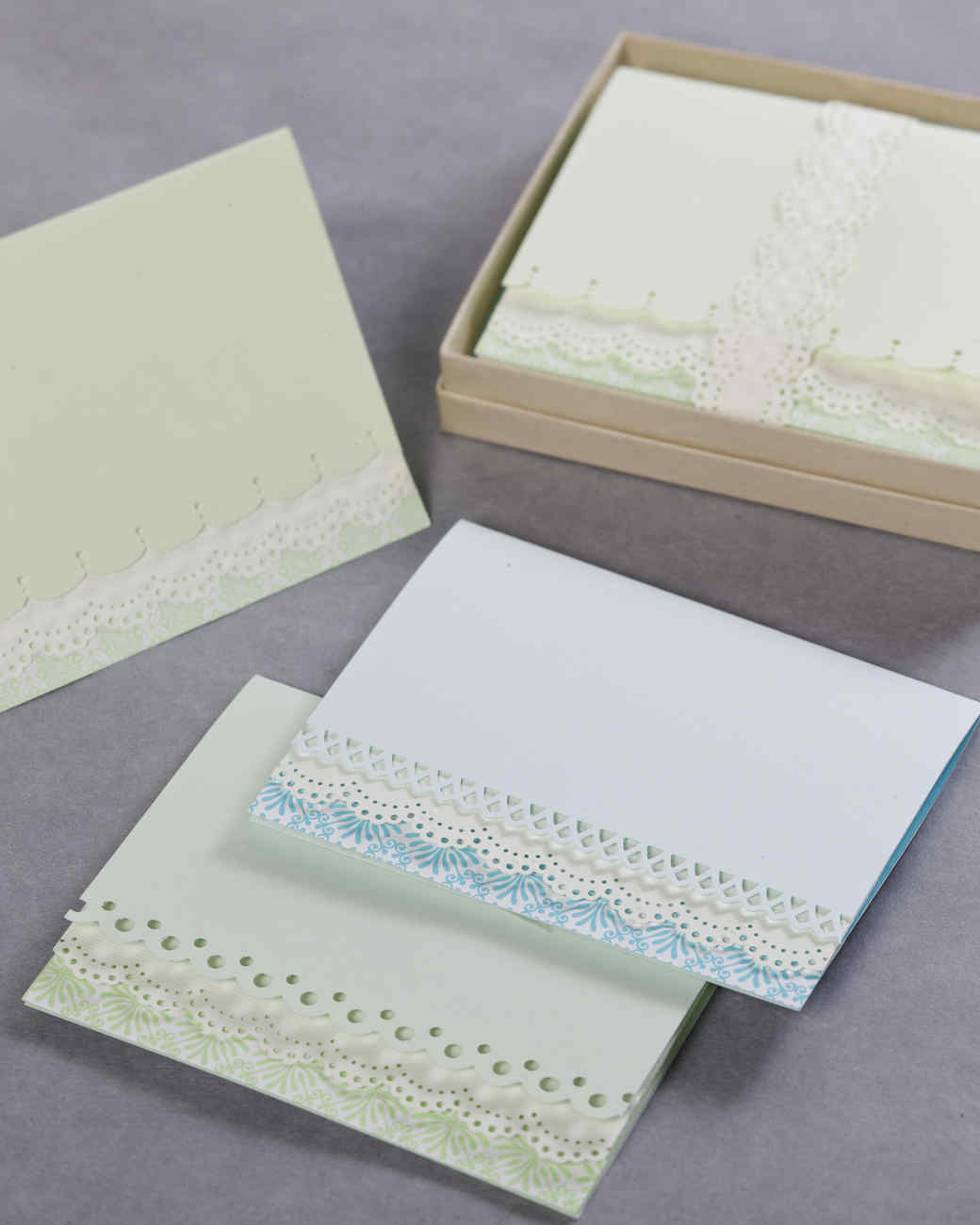 Martha Stewart Card Making Ideas Part - 15: Edge-Punched Cards