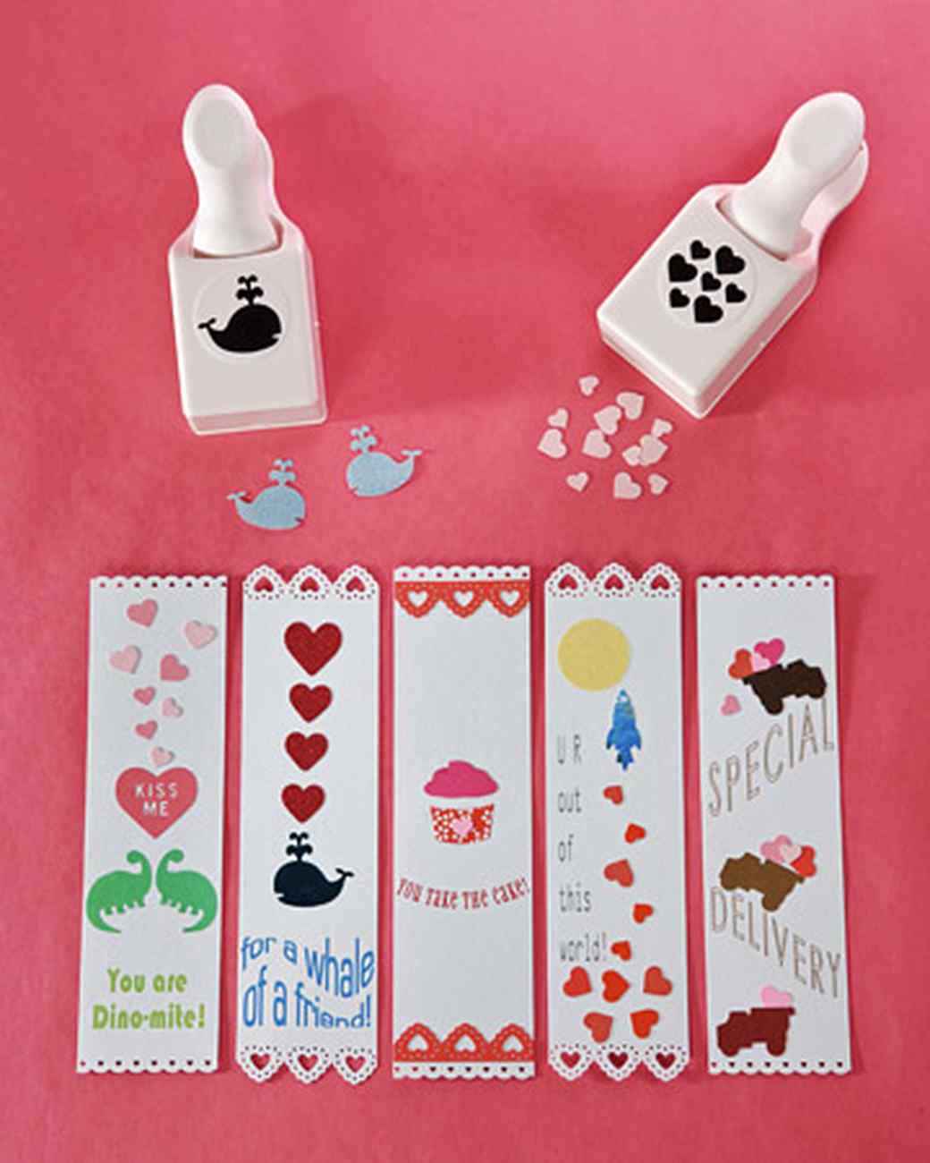 Valentine's Day Card Bookmark