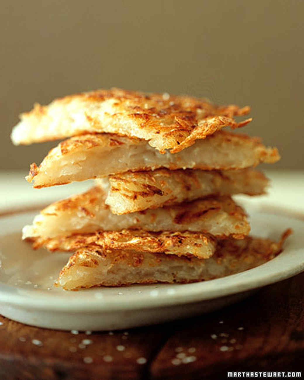 Grated Potato Pancakes