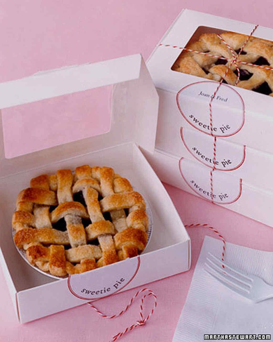 Fruit Pie Favors