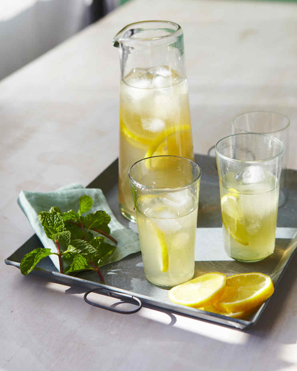 Mint Tea 3 Ways