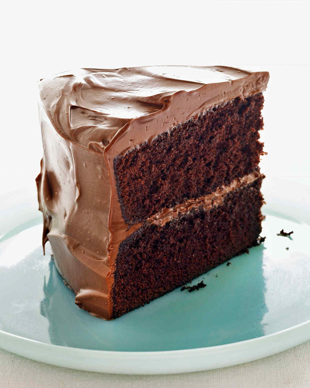 Devil's Food Cake with Milk Chocolate Frosting Recipe & Video | Marth...