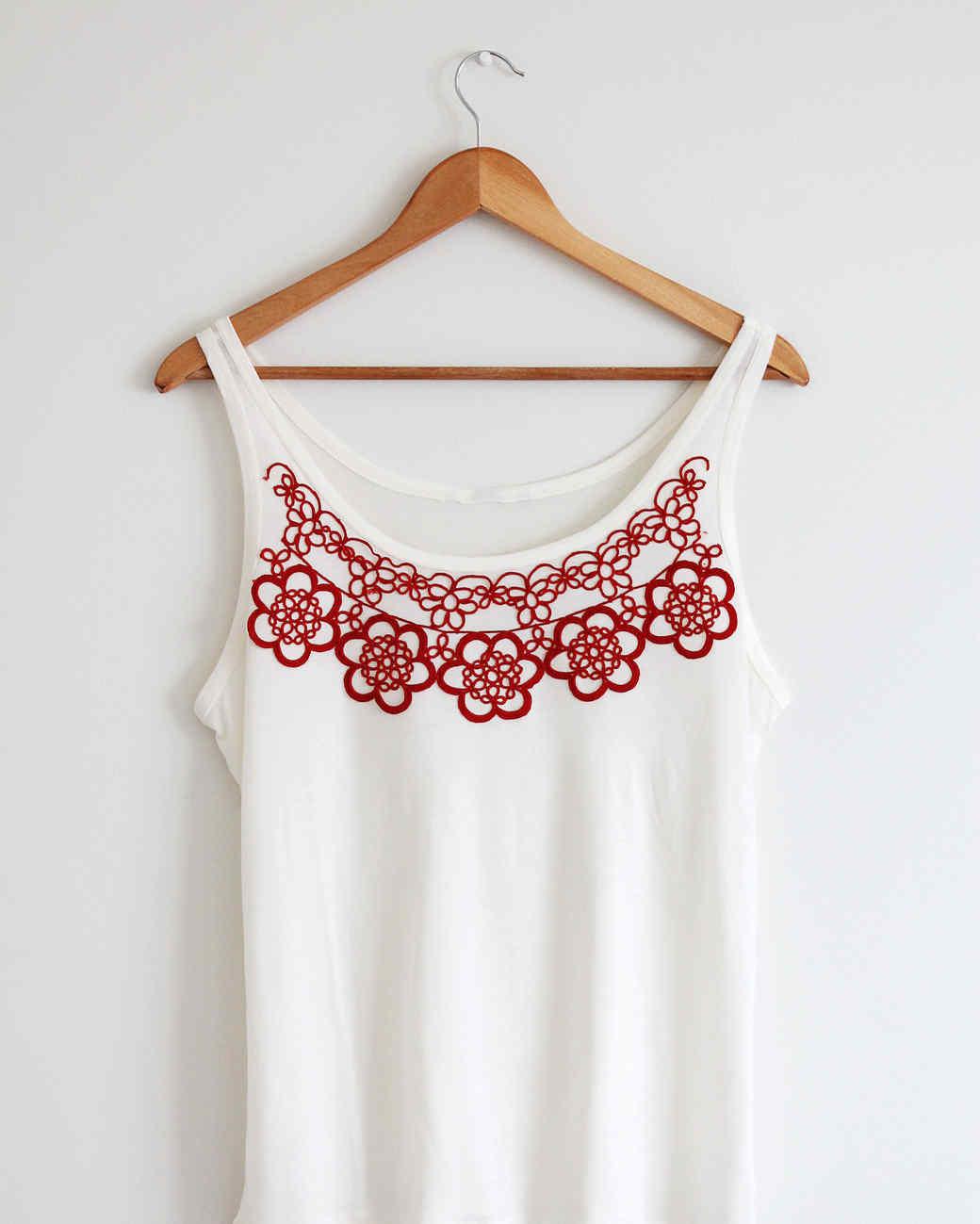 Doily Shirt