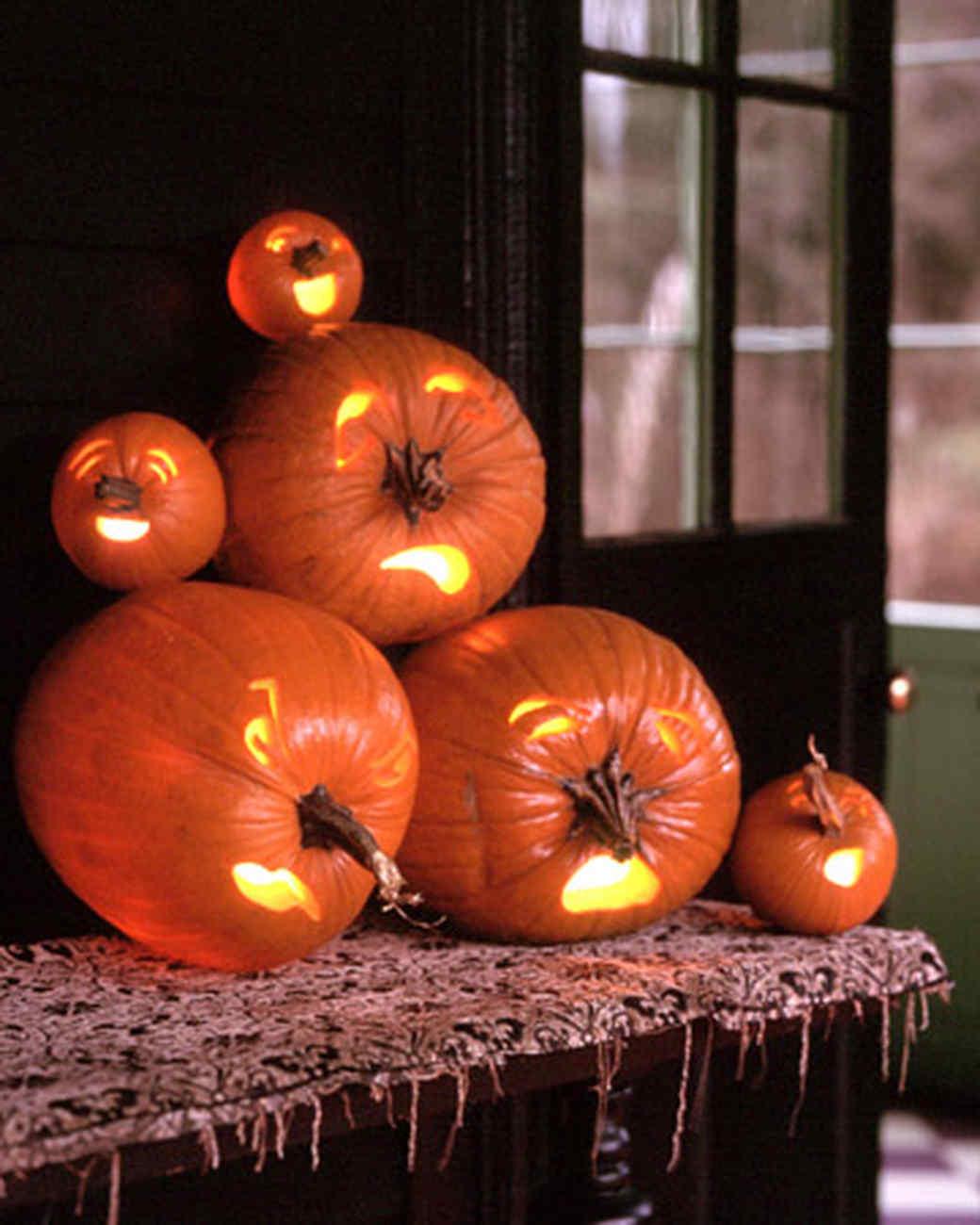 pumpkin carving and decorating ideas | martha stewart