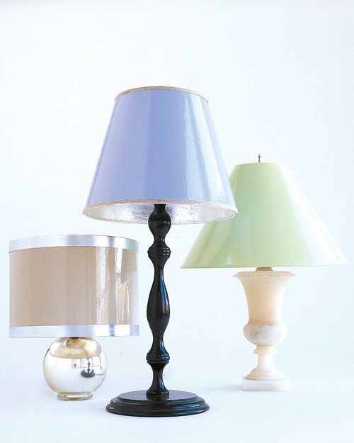 Painted Lampshades