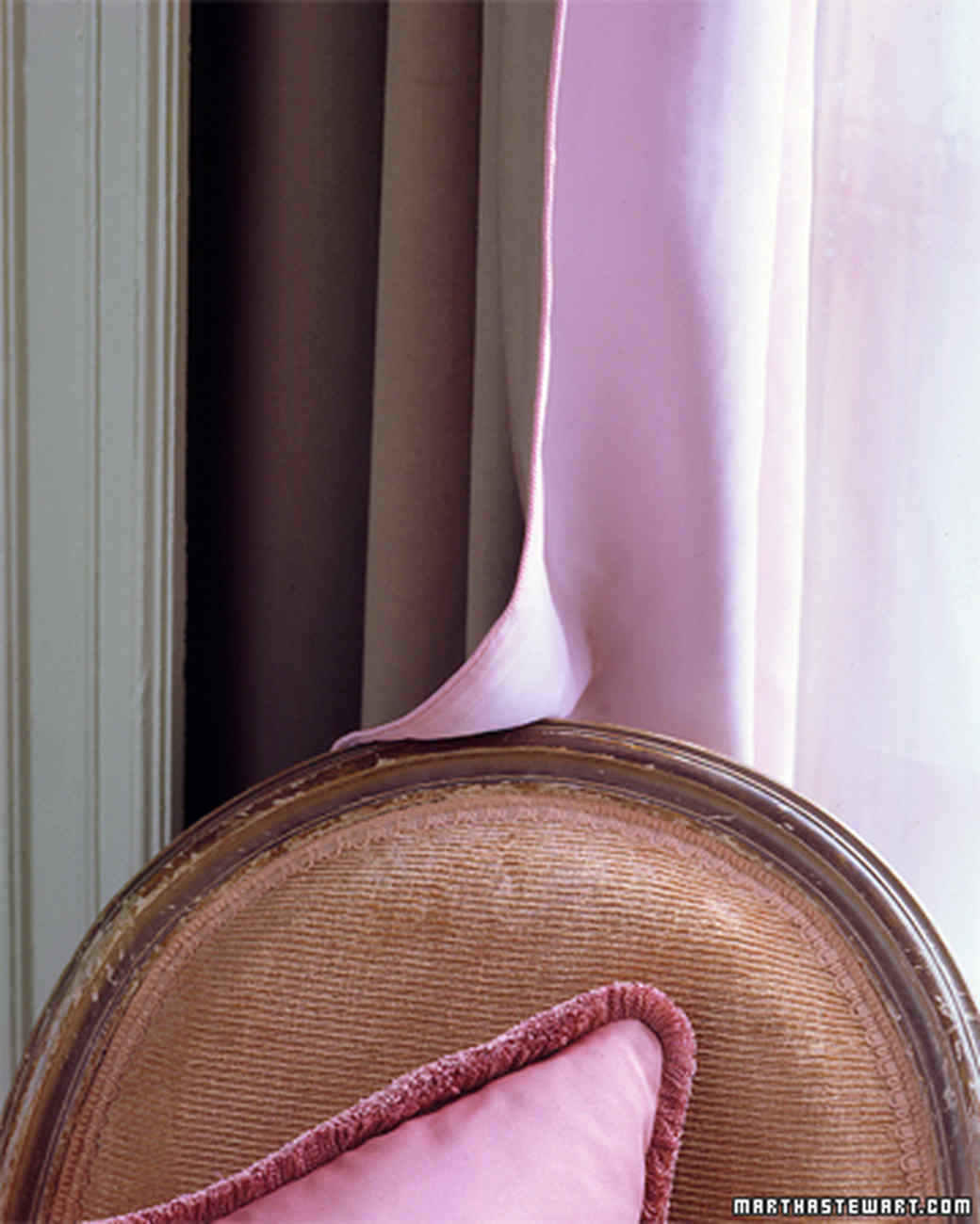 Pink Curtain Liner