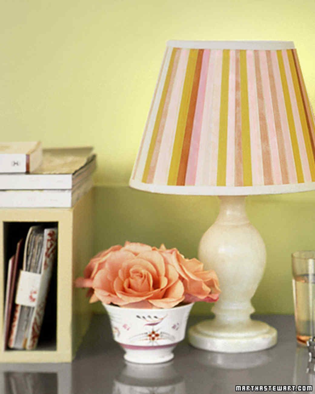 Lamp and shade projects martha stewart aloadofball Gallery