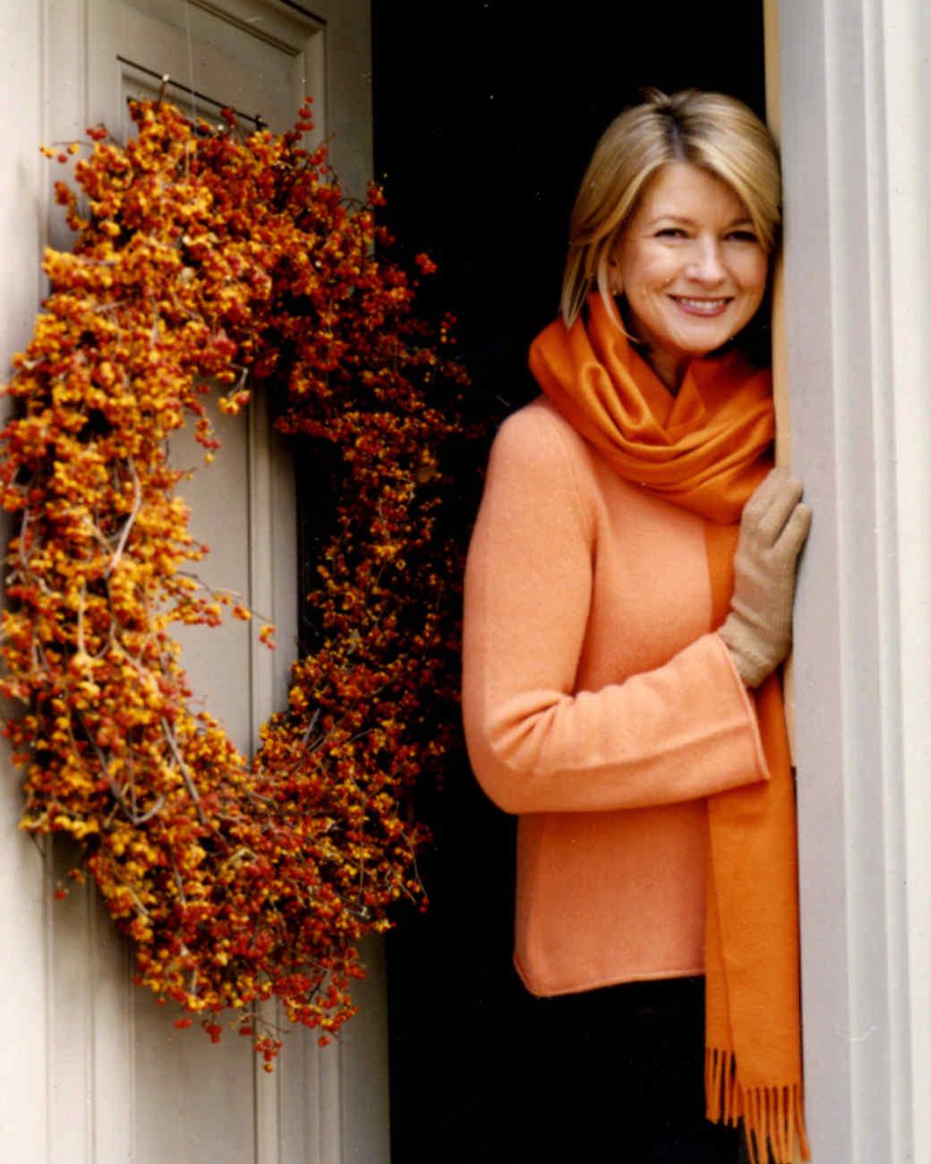 Bittersweet Autumn Wreath