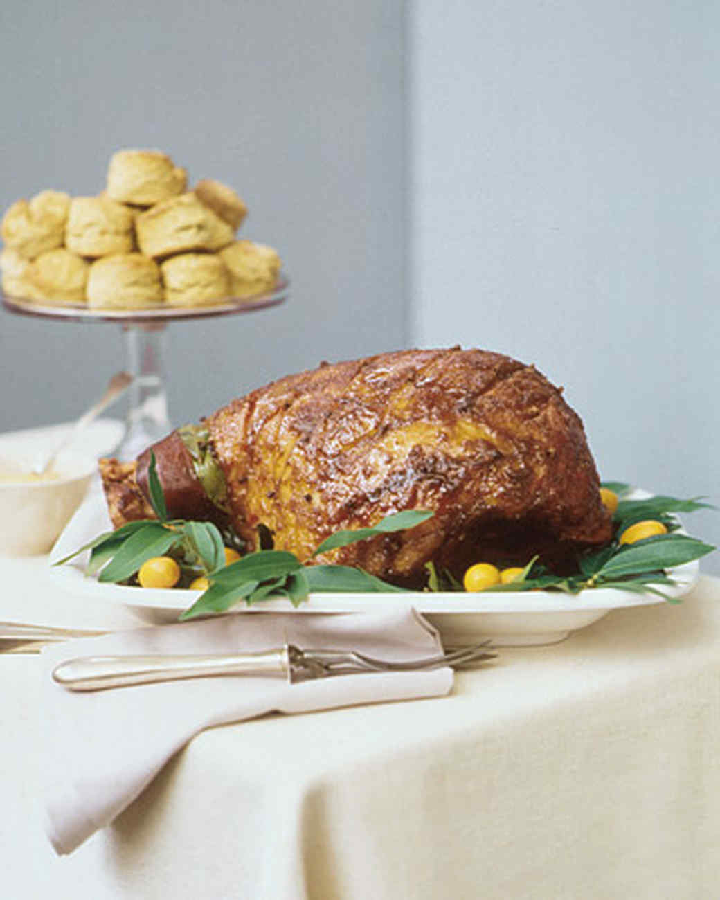 Martha Stewart Christmas Party Ideas Part - 22: Glazed Ham